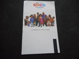 """BILLET De CINEMA """"COCO"""" - Autres Collections"""