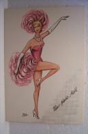 MUSIC-HALL -PARIS N° 27 -  REB (illustrateur ) - PIN-UP - Cabarets