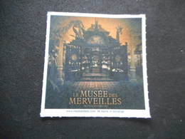 """BILLET De CINEMA """"LE MUSEE DES  MERVEILLES"""""""" - Autres Collections"""