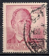 Chile  1959 - Airmail - The 100th Anniversary Of German School, Valdivia And Philatelic Exhibition - Chile