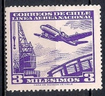 Chile  1960 - Airmail - Chile