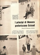 (pagine-pages)GRACE KELLY  Settimogiorno1961/08. - Autres
