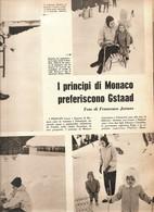 (pagine-pages)GRACE KELLY  Settimogiorno1961/08. - Libri, Riviste, Fumetti