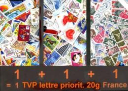 105 E Valeur Faciale - GAGNEZ 45% SUR VOS AFFRANCHISSEMENTS !  Equivalent (en Fr) Du TVP Lettre Prioritaire 20gr. France - France