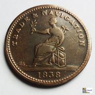 BRITISH  GUIANA - 1 Stiver - 1838 - Colonias