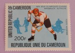 """CAMEROUN YT PA  273 NEUF(**) """"JO HOCKEYEUR """"ANNÉE 1977 - Cameroon (1960-...)"""