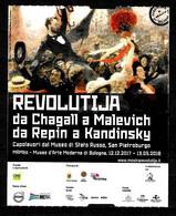 Biglietto - 2018 BOLOGNA Mostra REVOLUTIJA Da Chagall A Malevich Da Repin A Kandinsky Al Museo MAMBO - Biglietti D'ingresso