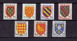 ARMOIRIES DE PROVINCES SERIE N° 999/1005 NEUF** - 1941-66 Armoiries Et Blasons