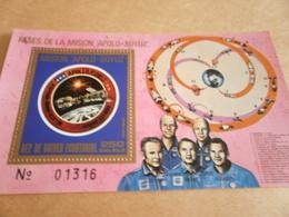 Miniature Sheet Belize 1975 Apollo Soyuz - Equatorial Guinea