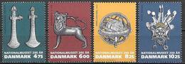 Denmark Danmark Dänemark 2007 National Museum Michel No. 1462-65 Mint MNH Neuf Postfrisch ** - Danemark