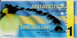ANTARCTICA 1  FRANCS  2011 UNC - French Pacific Territories (CFP)