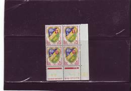 N° 1232 - 0,15F Blason D'ALGER - B De A+B - 3° Tirage Du 23.10.61 Au 11.11.61 - 6.11.1961 - - Coins Datés