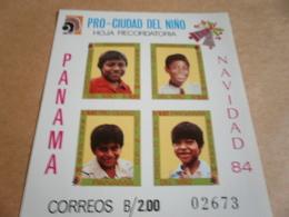 Miniature Sheet Panama Year Of The Child 1984 - Panama
