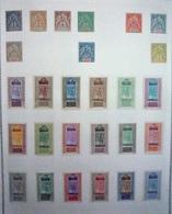 COLONIES FRANCAISES SOUDAN 1894 à 1942 - Collection Feuille Album - Neuf* - Très Propre - 8 Scans - Stamps