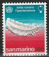 San Marino 1978 - Lotta Contro L'ipertensione - MNH ** - San Marino
