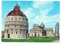 PISA - Piazza Del Duomo Coi Principali Monumenti - Ed. G. S. - 1972 - Pisa