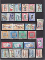 LAOS YT 123/206A USED EXCEPTED 203/204 - Laos