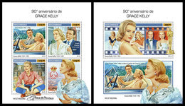 MOZAMBIQUE 2019 - Grace Kelly. M/S + S/S. Official Issue - Mozambique