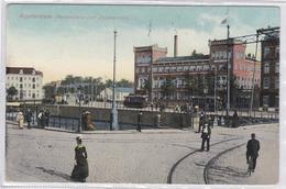 Amsterdam Kadijksplein Met Zeemanshuis # 1918 Tram Levendig   230 - Amsterdam