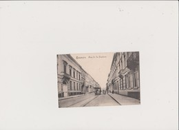 LEUVEN - LOUVAIN - LE VIEUX TRAM RUE DE LA STATION - 1919 - Recto-verso - Leuven