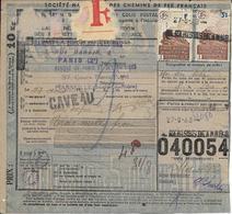 Bulletin D'expédition De Colis Postaux - N° 040054 Avec Timbres N° 200 Et 208 -- 26-05-19 - Non Classés