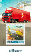 MALDIVES 2019 - Mail Transport, Car S/S Official Issue - Cars