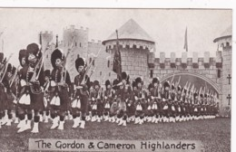 ALDERSHOT TATTOO SERIES - THE GORDON @ CAMERON HIGHLANDERS - Militaria