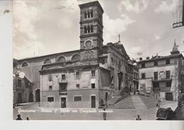 Genazzano Roma Piazza S. Paolo Con Campanile Romanico - Other