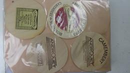 Grosse Collection De Couvercles Et étiquettes (62 Dans Ce Classeur) De Fromages Français.1/10 Voir Commentaires !!! - Fromage