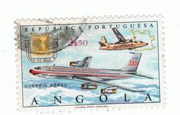 ANGOLA»1970»AIR MAIL»MICHEL AO 579»USED - Angola