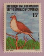"CAMEROUN YT 691 NEUF**MNH ""TOURTERELLE ""ANNÉE 1982 - Cameroon (1960-...)"