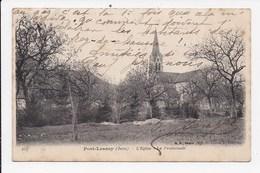 CPA 39 PORT LESNEY L'église La Promenade - Andere Gemeenten