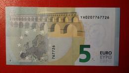 GREECE 5 EURO 2013 DRAGHI SERIE YA 0207767726 Y001D5 UNC FDS NEW BANKNOTE NUOVA BANCONOTA - 5 Euro