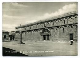 SARDEGNA - SASSARI - PORTO TORRES - LA CATTEDRALE  FORMATO GRANDE - VIAGGIATA 1958 - CONDIZIONI BUONE - Sassari