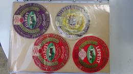 Grosse Collection De Couvercles Et étiquettes (123 Dans Ce Classeur) De Fromages Français.3/10 Voir Commentaires !!! - Cheese