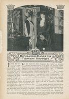 De Grandes Dames Qui Tiennent Boutique /  Article , Pris D`un Magazine / 1909 - Books, Magazines, Comics
