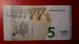 GREECE 5 EURO 2013 DRAGHI SERIE YA 3985531613 Y004H5 UNC FDS NEW BANKNOTE NUOVA BANCONOTA - 5 Euro