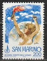 San Marino 1978 - Diritti Dell'uomo - MNH ** - San Marino