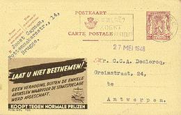 PUBLIBEL 723° : ( LAAT U NIET BEETNEMEN ! ) - Stamped Stationery