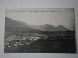74 Leschaux, Le Col Et Les Massifs Des Bauges (A8p64) - France