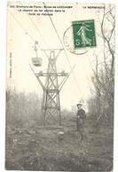 61 MINES DE LARCHAMP LE CHEMIN DE FER AERIEN DANS LA FORET DE HALOUZE 1911 CPA 2 SCANS - Other Municipalities