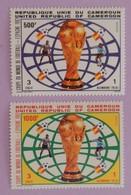 "CAMEROUN YT 704/705 NEUFS**MNH ""COUPE DU MONDE DE FOOTBALL ""ANNÉE 1982 - Cameroon (1960-...)"