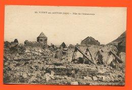 ET/195  VITRY EN ARTOIS RUE DE L ABREUVOIR 1919 // Guerre Bombardement - Vitry En Artois