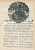Cauds, Chauds Les Marrons !  /  Article , Pris D`un Magazine / 1909 - Books, Magazines, Comics