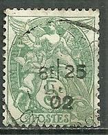 FRANCE Oblitéré 111 Type Blanc - 1900-29 Blanc