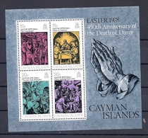 190031742   CAIMAN  ISL,  YVERT    HB  Nº  12    **/MNH - Cayman Islands