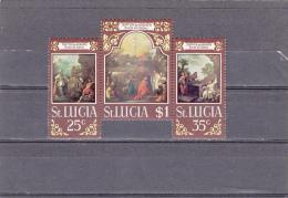 Santa Lucia Nº 273 Al 275 - St.Lucia (1979-...)