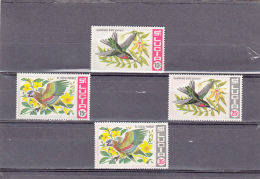 Santa Lucia Nº 239 Al 242 - St.Lucia (1979-...)