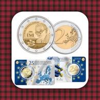 """WC - Belgium 2 Euro 2019 BU In Coincard """"European Monetary Institute- UNC - Belgium"""