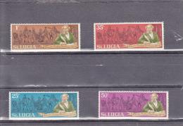 Santa Lucia Nº 276 Al 279 - St.Lucia (1979-...)